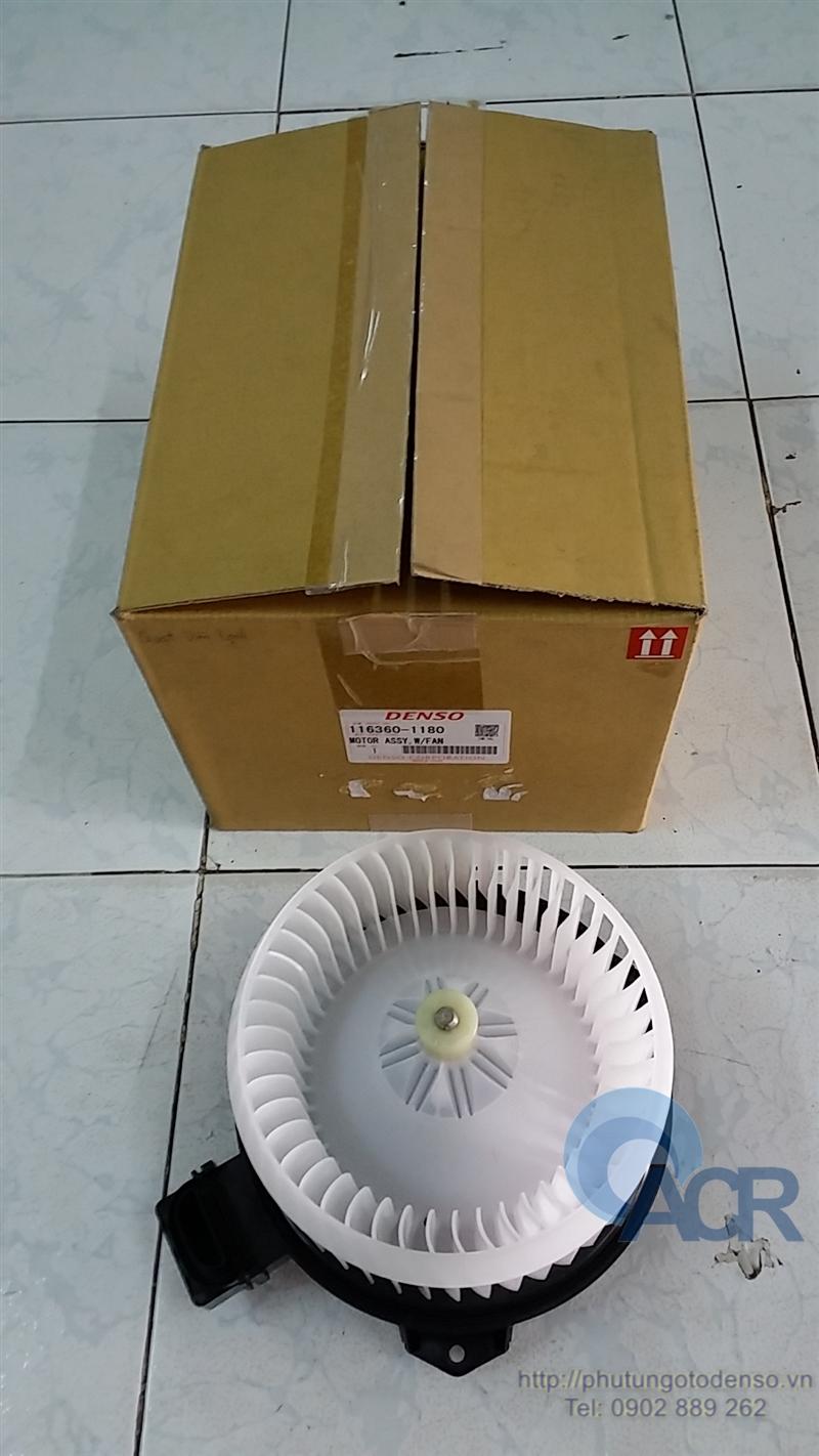 Mô tơ quạt dàn lạnh xe Innova