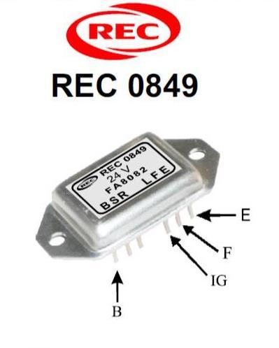 Tiết chế chỉnh lưu máy phát điện ISUZU, NISSAN 28V,