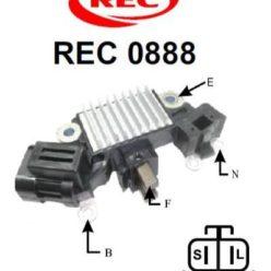 Tiết chế chỉnh lưu máy phát điện HITACHI, TRANSPO 12V,