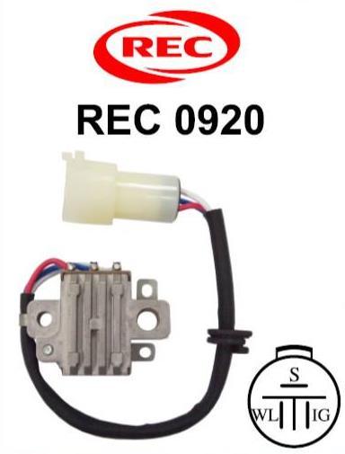Tiết chế chỉnh lưu máy phát điện TOYOTA, ISUZU 12V,