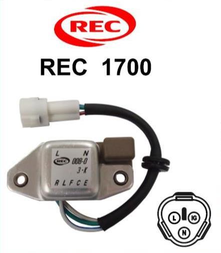 Tiết chế chỉnh lưu máy phát điện HINO, NISSAN, SAWAFUJI 24V,