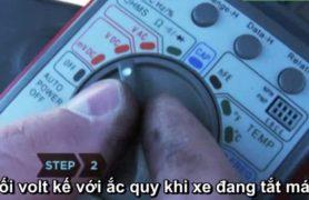 Kiểm tra máy phát điện ô tô