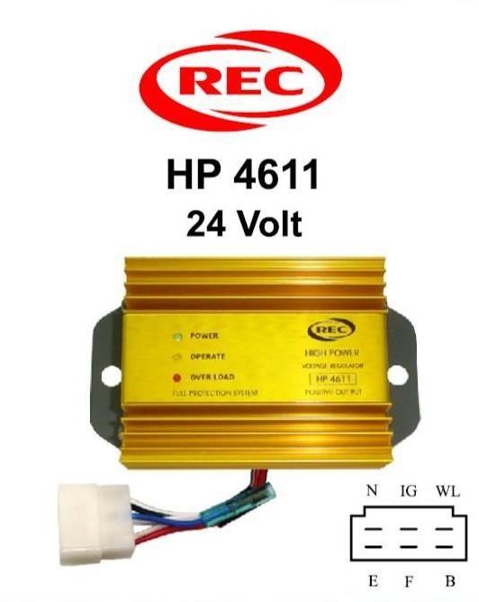 Tiết chế máy phát điện xe buýt, xe cứu thương 24V