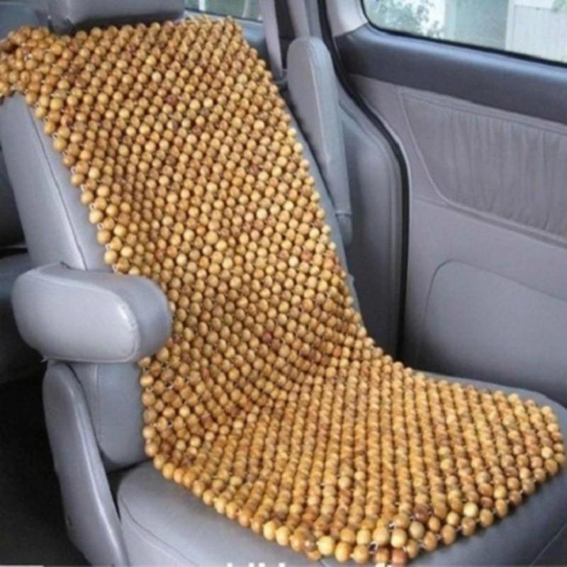 Đệm lót ghế ô tô cao cấp hạt gỗpơ mu