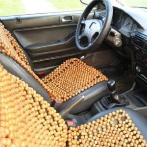 Đệm lót ghế ô tô gỗ pơ mu