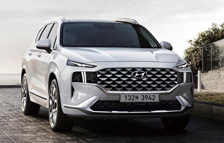 Ba đờ xốc trước Hyundai SantaFe 2021